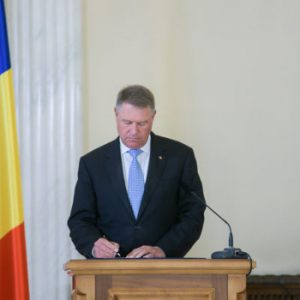Klaus Iohannis: Next week I will issue a decree to extend the state of emergency