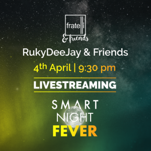 SMART NIGHT FEVER – Azi, de la 21:30 ai party cu Fratelli Social Events pe smartradio.ro