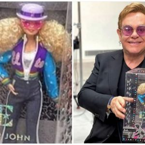 FOTO Elton John are propria păpuşă Barbie