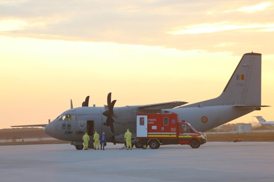 Imaginea articolului Two military aircraft will bring medical supplies from Turkey and Germany for the ROL2 Hospital